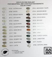 Eco Flex 9500 Sealant Specify Color 10 1 Oz Tubes Case 24