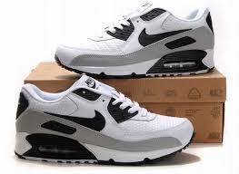 nike air max 90 white black grey black grey nike air