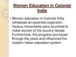 presentation on w education women education