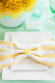 Wedding Colors | Mint + Yellow | The Perfect Palette