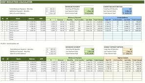 Interest Calculation Spreadsheet Credit Card Calculator Excel Debt Payment Calculator Excel Download