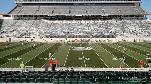 Msu Stadium Seating Chart Spartan Stadium Section 9 Rateyourseats Com