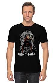 <b>Футболка классическая Iron</b> Throne #1120306 от skynatural по ...