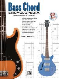Basic Bass Chords Bass Chord Encyclopedia Bass Guitar Book Cd