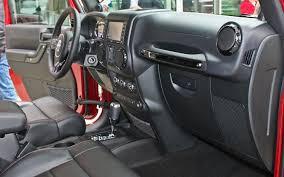 jeep wrangler jk 4 door interior trim kit gloss black