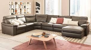 Natuzzi Bedroom Furniture B814 Modular Leather Sectional Natuzzi Editions Puritan