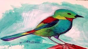 acrylic paintings of birds painting of birds diy stepstep how to paint an acrylic painting bird