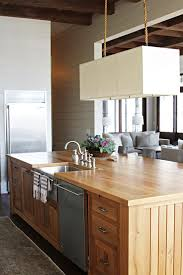 Natural Pine Wood Is A Great Way To Warm Up Your Kitchen