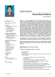 Career Summary Nazrul Mazdi Mokhtar Piping Designer Nazrul is a Piping  Designer more than (20 ...