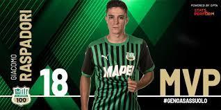 Giacomo Raspadori è l'MVP di Genoa-Sassuolo! – U.S. Sassuolo Calcio