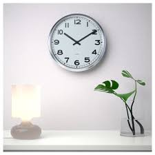 clocks ikea wall clock red table white jysk outstanding large silver and round lamp plant vas