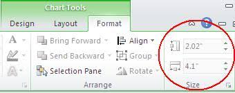 Excel Set Chart Size Quick Tip Apply A Uniform Size To All Charts On An Excel