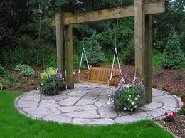 Small Picture Best 25 Outdoor swings ideas only on Pinterest Fire pit gazebo