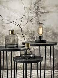 Nordal Staande Lamp In Glazen Stolp Op Een Houten Voet Living Roots