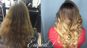 Dark To Light Ombre Hair Dark To Light Color Melt Ombre Balayage