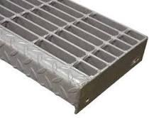 stainless steel bar grate stair tread design