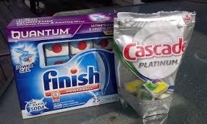 Finish, somat, cascade lựa chọn nào cho máy rửa chén gia đình bạn
