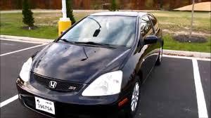 My New Car! 2002 Honda Civic Si Walkaround, Start up, Tour and ...