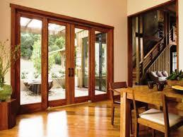image of rustic sliding glass patio doors