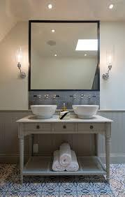 traditional tile bathroom bathroom transitional with two bathroom