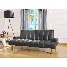 Walmart Living Room Chairs Mainstays Theater Futon Black Walmartcom