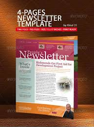 newsletter template for pages 35 effective and creative email newsletter designs