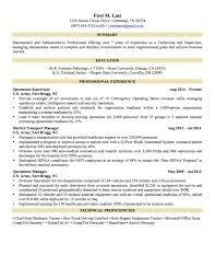 Sam Fresh Military Resume Examples For Civilian Resume Cover