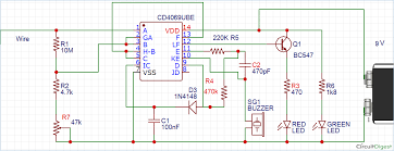 broken wire detector circuit using ic cd4069 Wire Circuit Diagram broken ac wire detector circuit using ic4069 3 wire circuit diagram