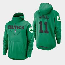 Showtime Hoodie Irving Full-zip Celtics Kyrie Green Men