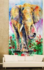Wall mural Elephant, elephants and ...