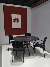 Magis Design Furniture Mila Chairs And Table Designed By Jaime Hayon For Magis