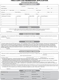 Application For Membership Membership Application Ymca Cape Cod