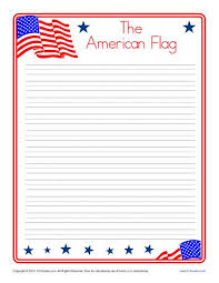 american flag printable lined writing paper american flag lined writing paper