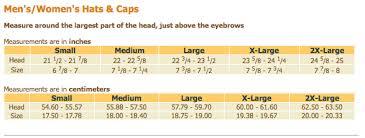 Business Sales Size Charts Cabelas