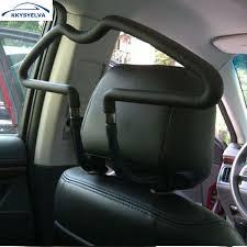 Coat Rack For Car KKYSYELVA Stainless Car Coat Hanger Clothes Jackets Suits Holder 22