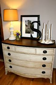 black painted furniture ideas. Furniture: White Distressed Dresser For Sale With Brown Wood Top . Black Painted Furniture Ideas T