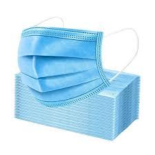 [<b>2000 PCS</b>] Disposable Protective <b>Mask</b> - <b>3</b> ply Earloop, Non-medical
