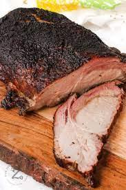 smoked pork loin tender juicy our