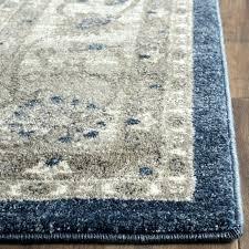power loom blue beige area rug sofia ivory rugs home co light gray