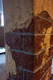 Faux Exposed Brick Faux Brick Plaster Faux Brick With Break Away Plaster