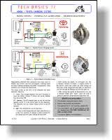 era technical library tech basics honda toyota nippondenso charging systems