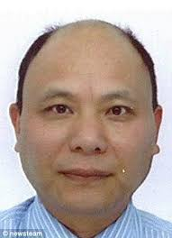 On trial: Anxiang Du, 54, murdered a family of four with 'ruthless - article-0-195CED4500000578-984_306x423