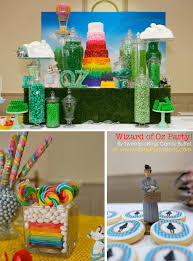 Wizard Of Oz Party Decorations Karas Party Ideas Wizard Of Oz Rainbow Wedding Party Decorations