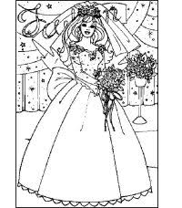 Disegni Da Sposa Da Colorare Barbie Sposa 2 Disegni Per