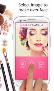 makeup camera makeover apk screenshot