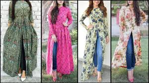 Kurta Designs To Wear With Jeans New Trendy Ways To Wear Kurti With Jeans 2019 Fashionglint