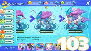 Poketown Legendary (Pokemon Adventure) Mega Suicune - Android IOS Gameplay  Part 103 - YouTube