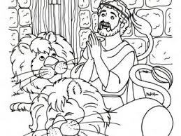 Small Picture Free Coloring Pages Daniel And The Lions Den Coloring Page At