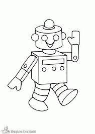 Kleurplaten Robot Kleurplaten Kleurplaatnl Robots Robots