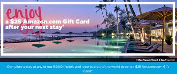 hilton honors 25 amazon gift card for a stay by january 29 2018 targeted loyaltylobby